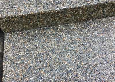 Exposed aggregate walkway in North Scituate.5