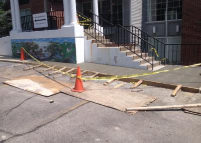 concrete sidewalk 2